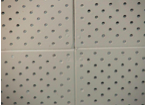 Front Side of Perforated LDB